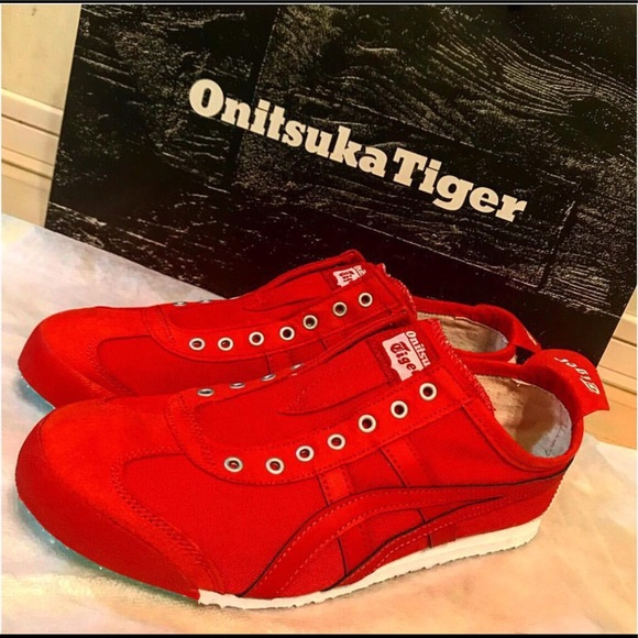 big sale e39af 1a554 Onitsuka Tiger Mexico 66 Classic red on red Ltd.